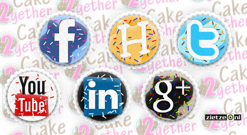 Cake2gether Social Media Icons